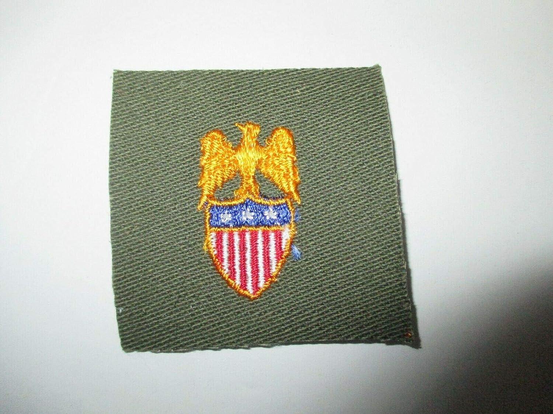Vintage Reproduction e0465 US Army Emblem Branch Cloth O Vietnam Over item handling Quality inspection