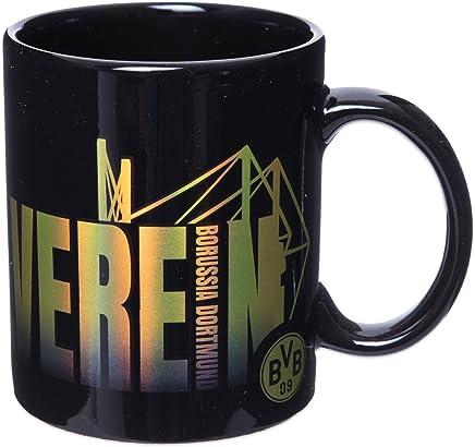 Preisvergleich für BVB Borussia Dortmund - Tasse Ballspielverein - Kaffeetasse Kaffebecher