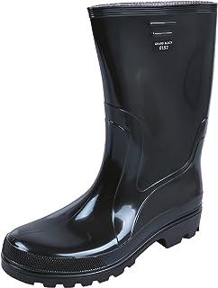 Belles bottes de pluie noires pour homme GRAND BLACK DEMAR