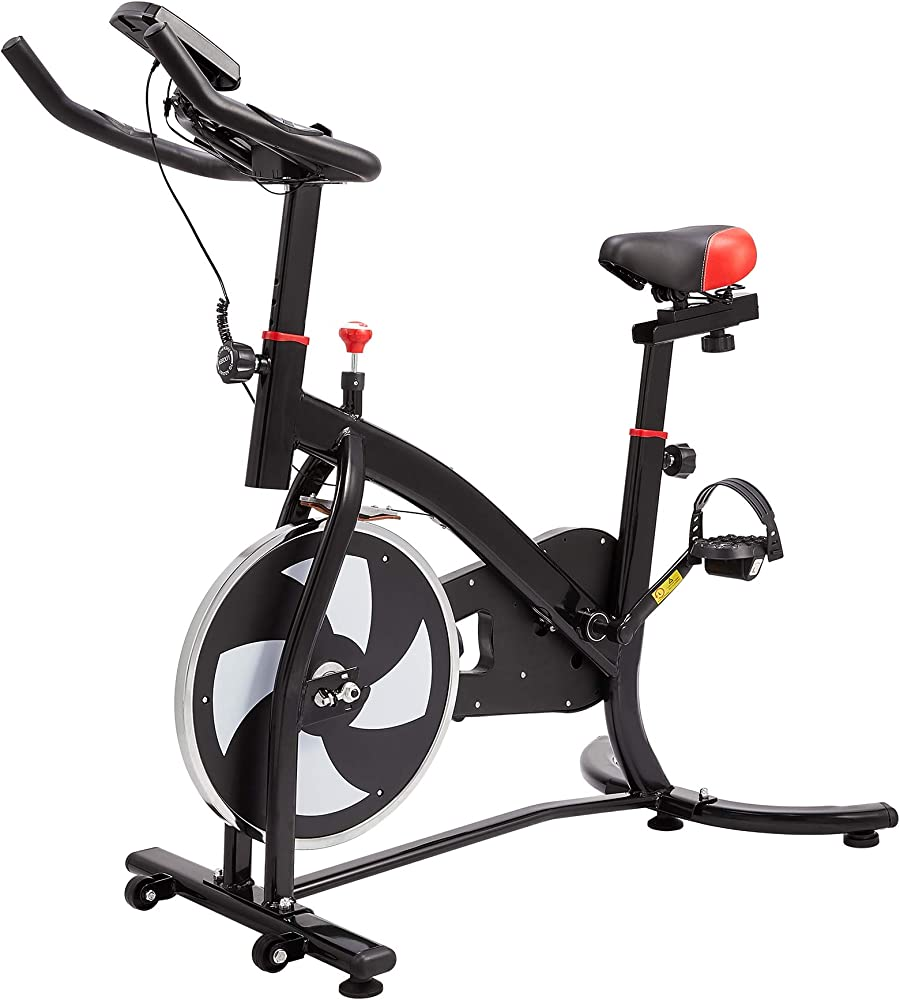 z zelus cyclette fitness bici da spinning professionale volano da 6kg
