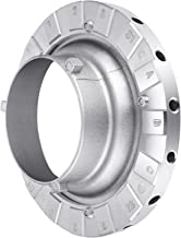 Neewer Metal Bowens Speed Ring Speedring Adapter for Bowens Softbox for Speedlite Studio Flash Strobe Monolight