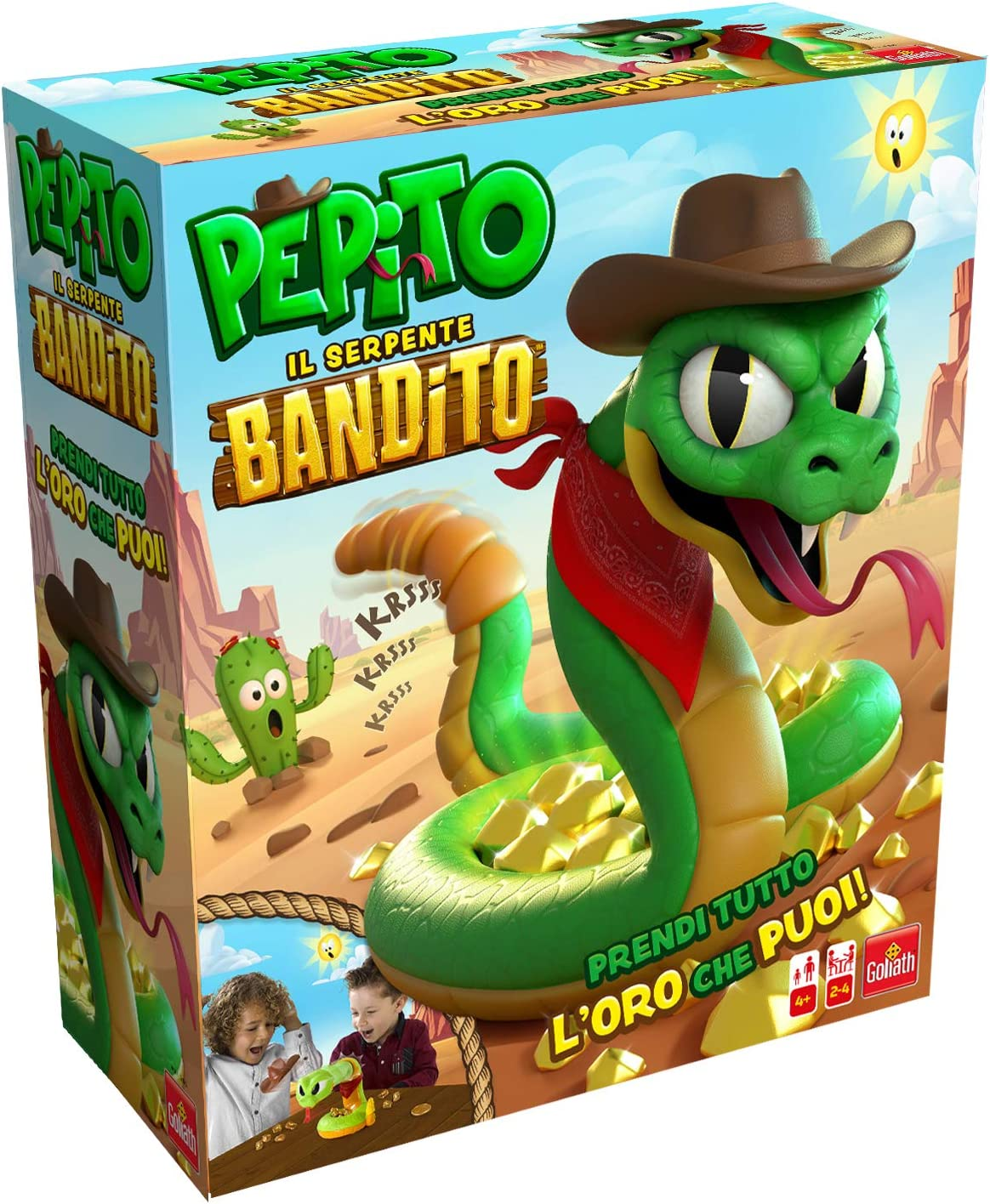 GOLIATH Clearance SALE Limited time Free shipping anywhere in the nation - Pepito Bandit The
