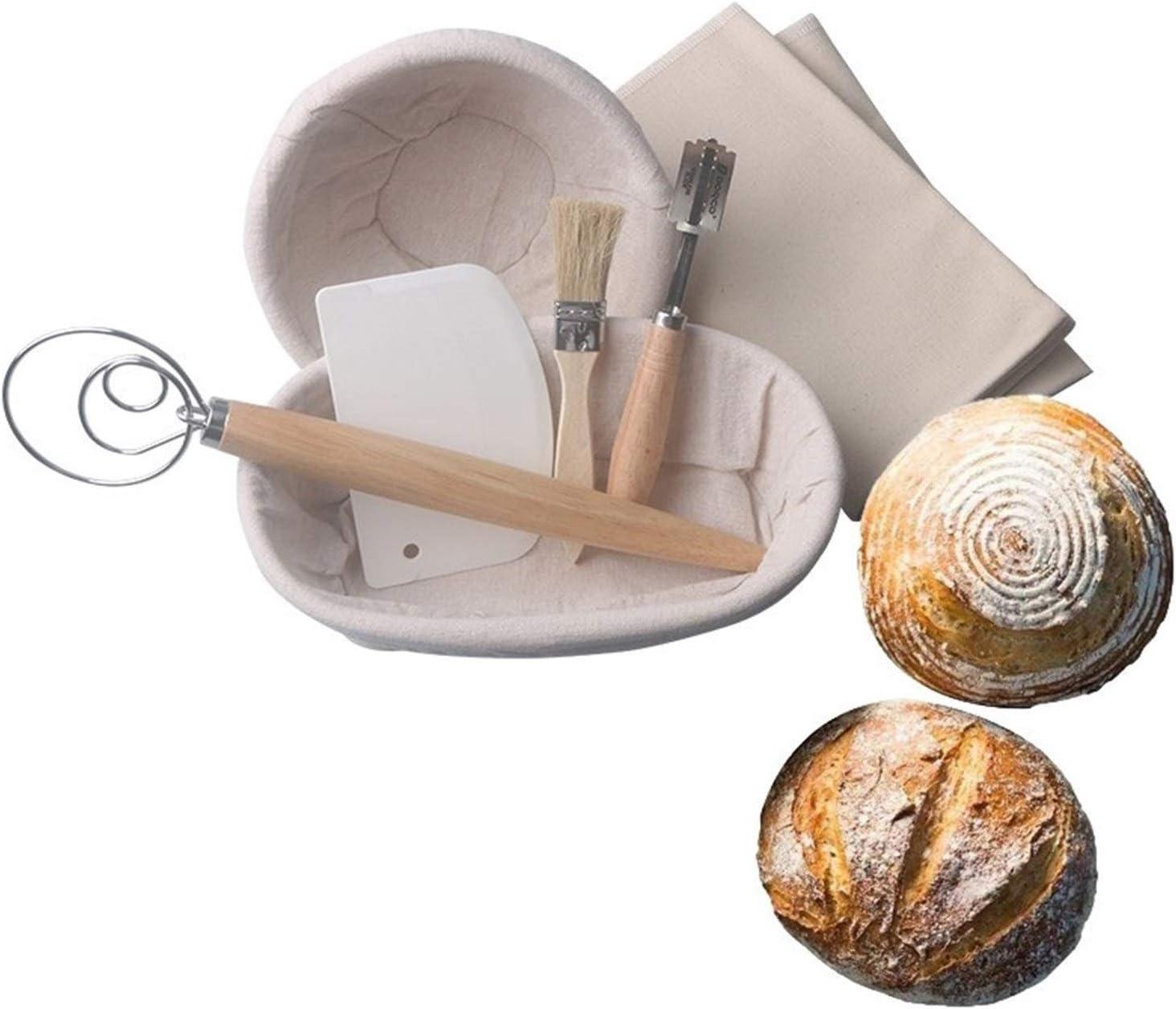 YWSZY Bread Proofing Baskets Dough Max 66% OFF Max 59% OFF Fermentation Rattan 7P Basket