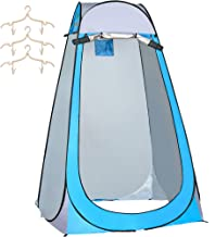 SIWANAMU Pop Up Tent Portable Toilet Small Tent Waterproof and Sun-Proof Durable and Reliable Portable and Convenient Mult...