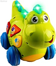 WolVol Talking Dinosaur Toy with Lights and Sounds for Kids - Teaching, Learning, Activity, Walking & Fun Action