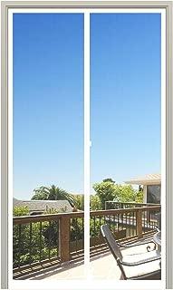 MAGZO Magnet Screen Door 30 x 80, Magnetic Mesh with Heavy Duty Full Frame Hook&Loop Fits Door Size up to 30