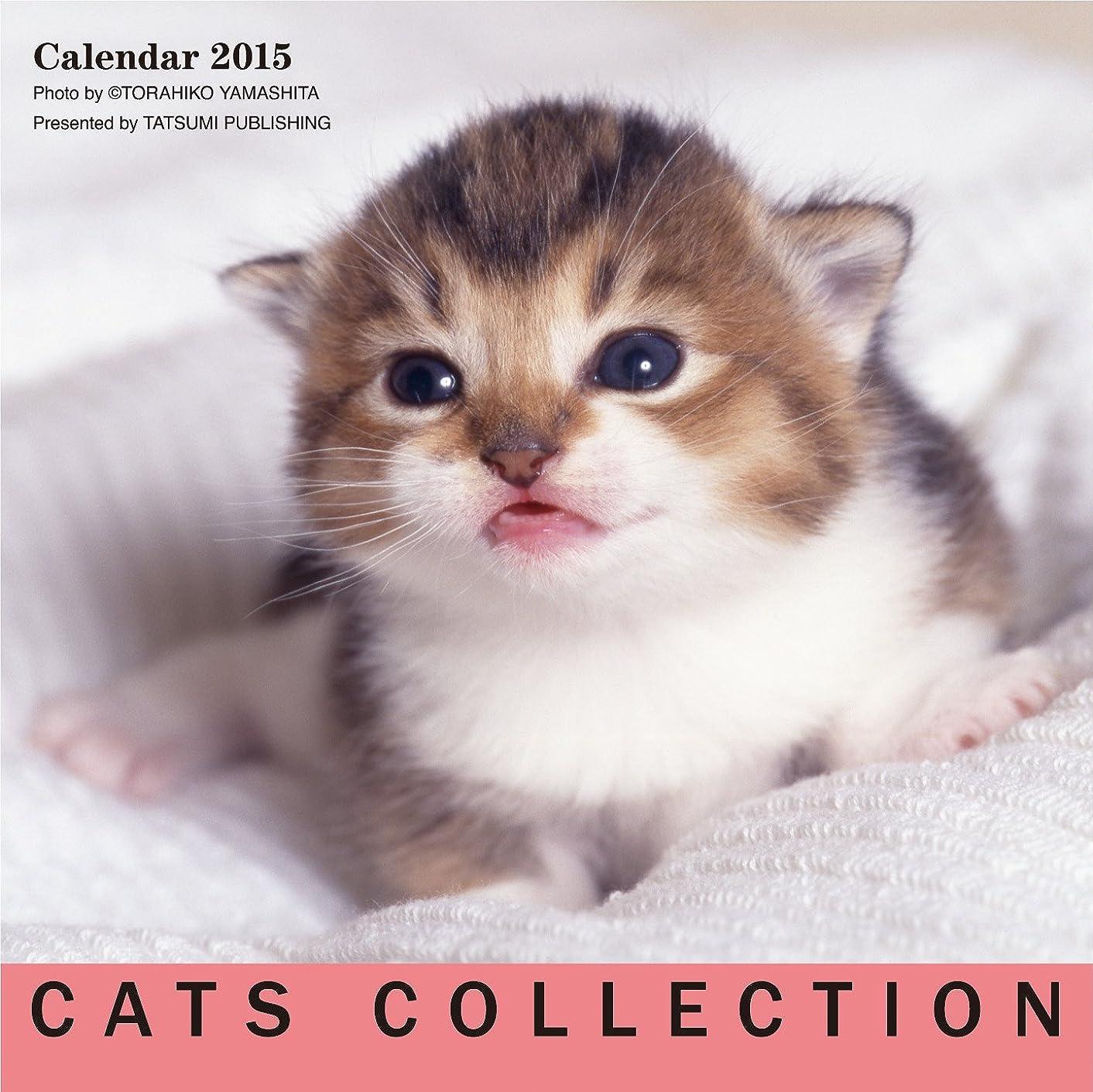 心のこもった不快な公使館2015カレンダー キャッツコレクション ([カレンダー])