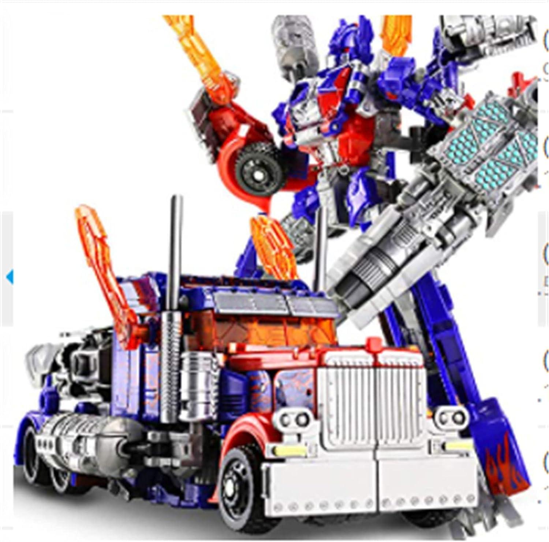 LUSTAR Transformers Juguete Studio Series Optimus Prime Figuras de Acción Modelo De Robot De Coche Regalo para Adultos Ventiladores 20 Cm (7,9 Pulgadas)
