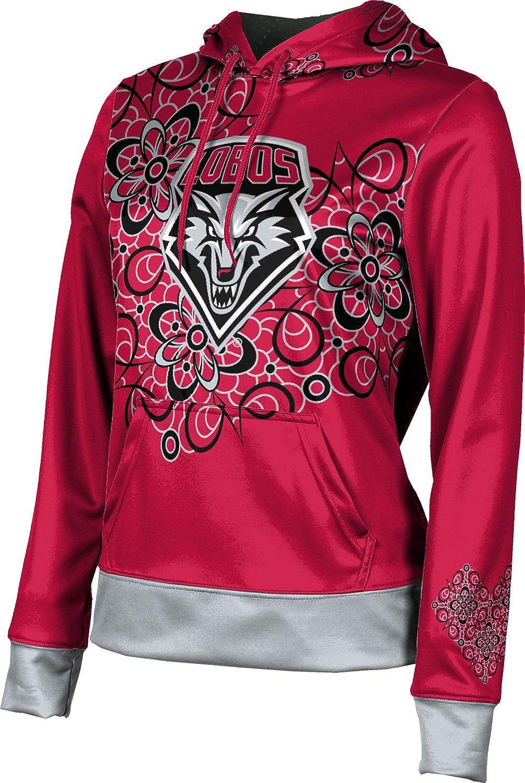 ProSphere University of New Mexico Girls' Pullover Hoodie, School Spirit Sweatshirt (Foxy)