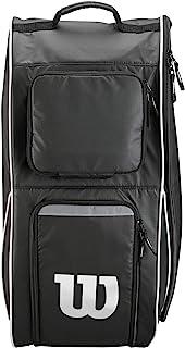 """Wilson Unisex-Adult Equipment Bag WTF918400, Black, 12"""" L x 14"""" W x 24"""" H"""