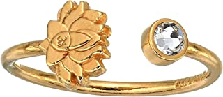 Alex and Ani Women's Lotus Peace Petals Ring
