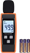 LiNKFOR Decibel Meter Digital Sound Level Tester Noise Meter Measurement Range 30dBA -130dBA Max/Min Hold Function, LCD Display, Batteries Included Decibel Monitoring Tester