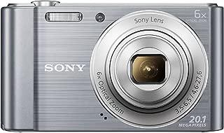 Sony Cybershot DSC-W810/SC 20.1MP Digital Camera with (Silver)