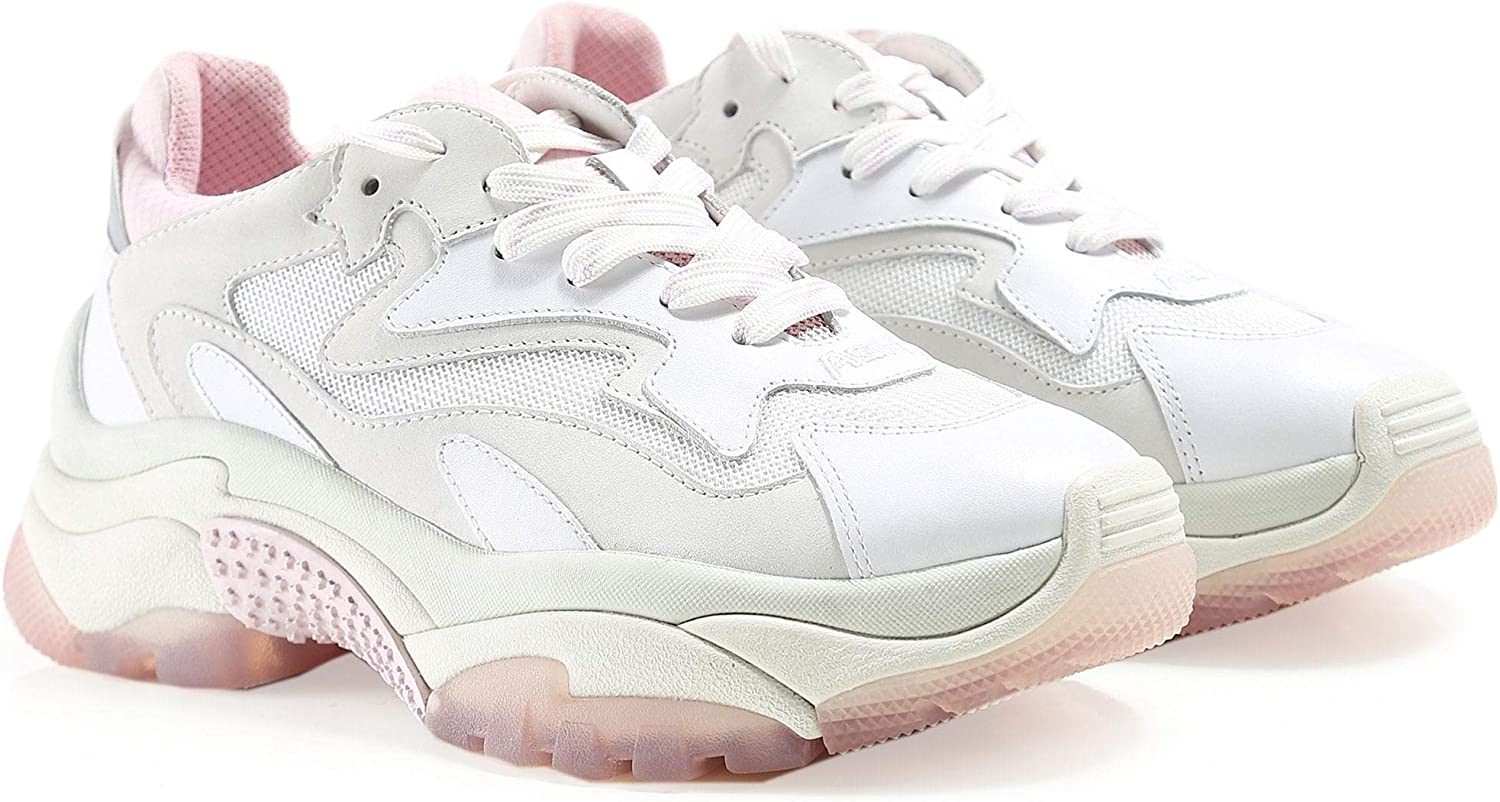 Ash Women's Leather Addict Trainers Pink