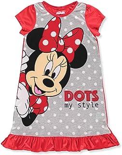 Minnie Mouse Big Girls Hooded Microfleece Nightgown I Love Miss Minnie