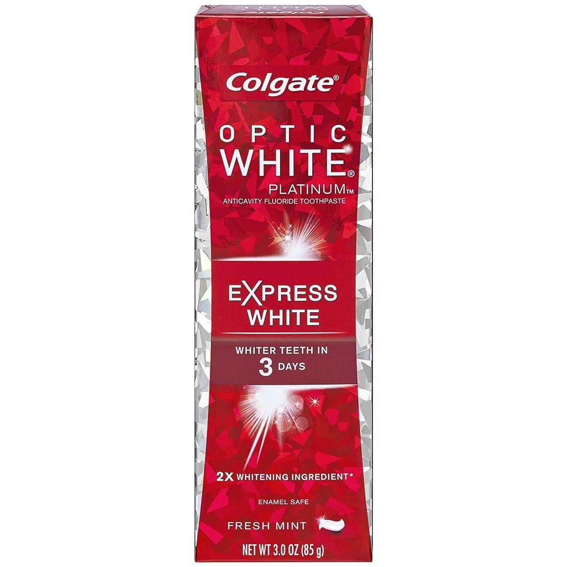 モットー急行するエージェントコルゲート 歯みがき粉 オプティック ホワイト 3Days エクスプレス ホワイト