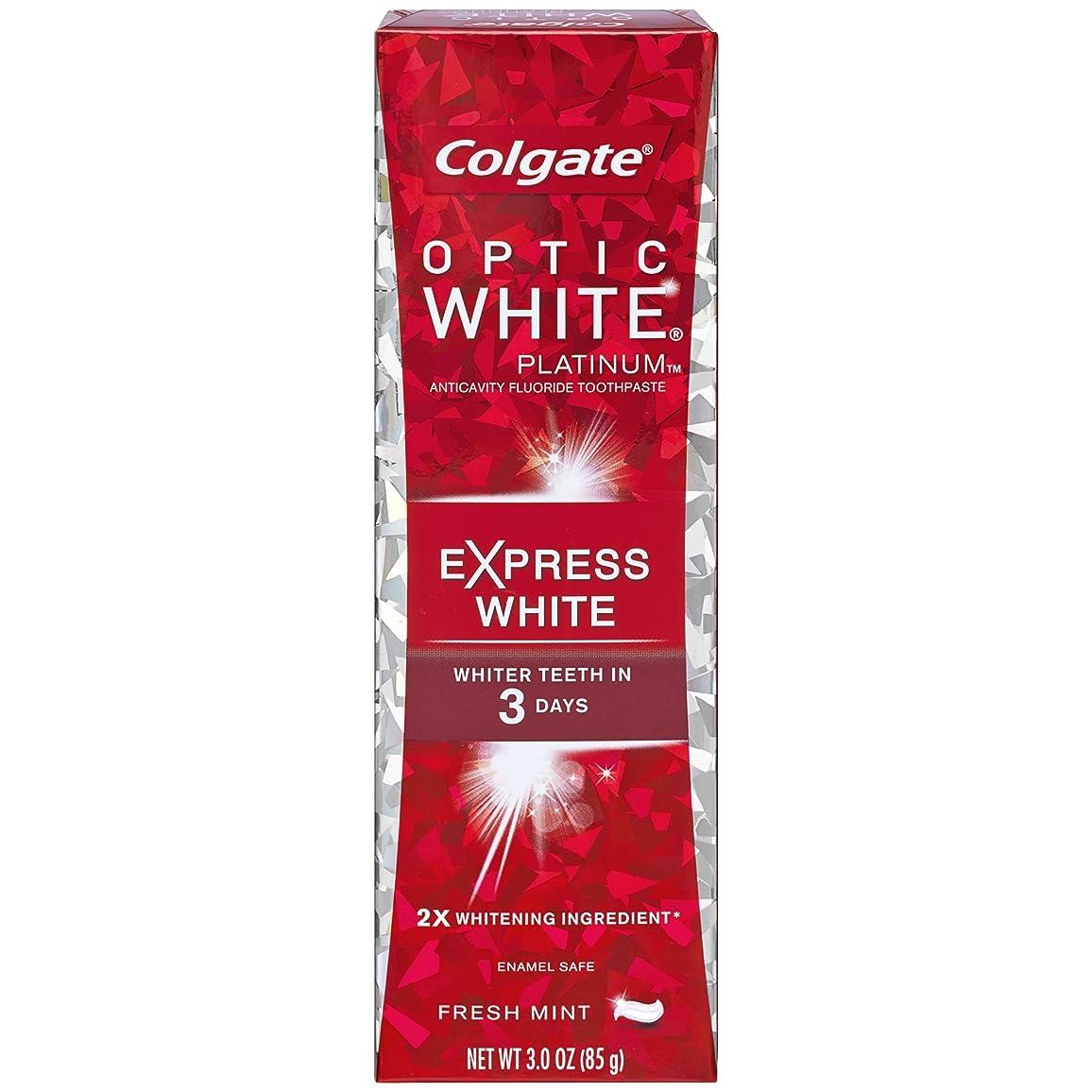高速道路くるみ無法者コルゲート 歯みがき粉 オプティック ホワイト 3Days エクスプレス ホワイト