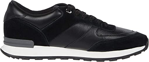 Black Leather/Suede