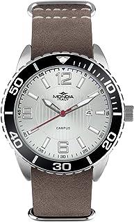 Mondia Campus Sport Mens Analog Japanese Quartz Watch with Leather Bracelet MI754-2CP