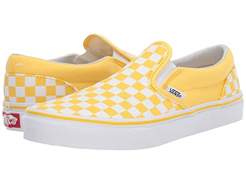 00a6768f7e Vans Kids Classic Slip-On (Little Kid Big Kid) at Zappos.com