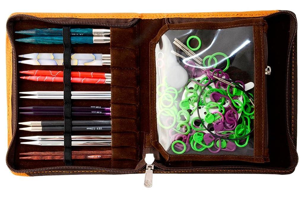 Knitter's Pride Faux Leather Danube Interchangeable Needles Case