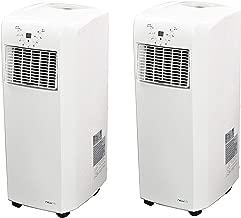 NewAir AC-10100E 10000 BTU 2 Speed 325 Sq Ft Portable Air Conditioner (2 Pack)