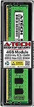 A-Tech 4GB DDR3 1333MHz PC3-10600 Desktop RAM Module | Non-ECC Unbuffered DIMM 240-Pin Memory Upgrade Stick
