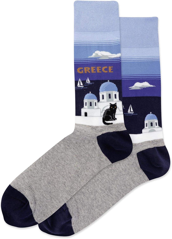 Hot Sox Mens Groom Crew Socks