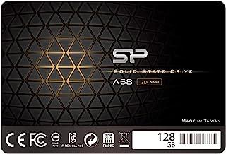 "Silicon Power 128GB SSD 3D NAND TLC A58 Performance Boost SATA III 2.5"" 7mm (0.28"") Internal Solid State Drive (SU128GBSS3..."