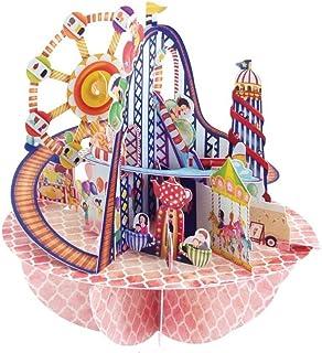 Santoro Pirouette Fairground 3D Card, Multi-Colour