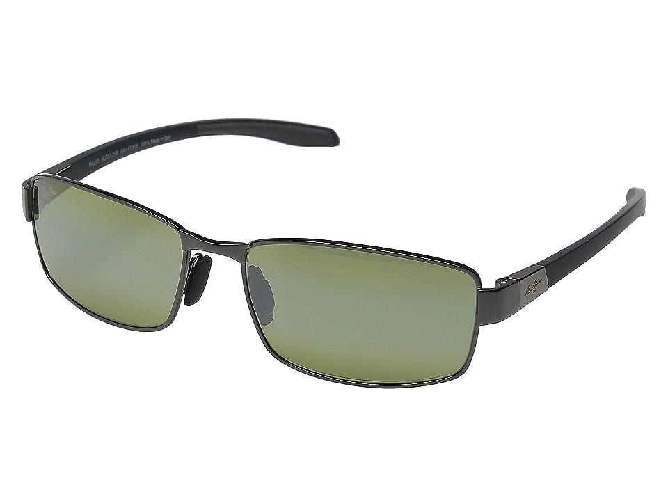 Maui Jim Kona Winds (Gunmetal/Grey/Maui HT) Polarized Fashion Sunglasses