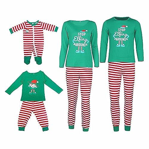 2b10ff8bd MAIPOETYRY Christmas Holiday Family Matching Sleepwear Pajamas Set