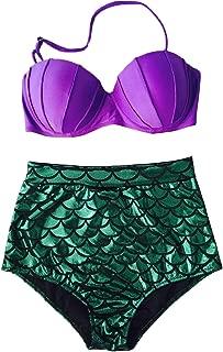 little mermaid high waisted bikini