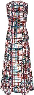 Jonathan Cohen Anna Dress, Deconstructed Blanket Print