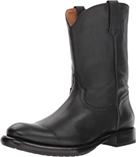حذاء رجالي غربي من FRYE عليه Duke Roper