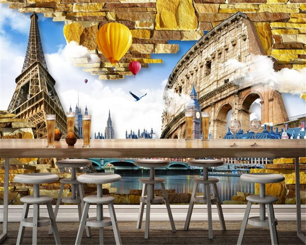 Wall Murals,3D Wallpaper Max 58% OFF Custom Milwaukee Mall Living Bedroom Room Decoration