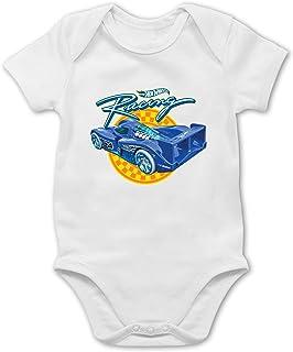 Shirtracer Hot Wheels Baby - Racing - Baby Body Kurzarm für Jungen und Mädchen
