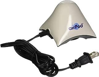 Penn Plax Air Pod Aquarium Air Pump Ultra Quiet Compact Dome Shape Up to 10 Gallon Tank