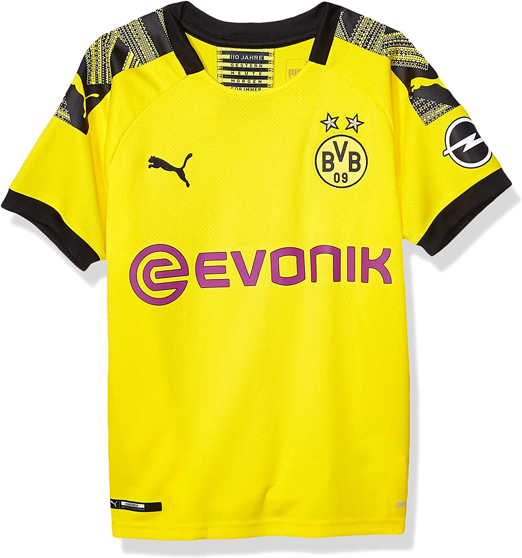 PUMA BVB Home Shirt Replica Jr Evonik with Opel Logo Camiseta para Hombre