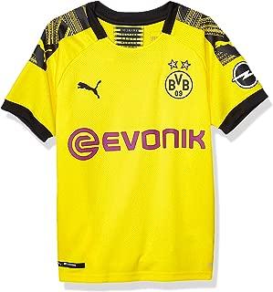 Men's BVB Home Shirt Replica Jr with Evonik Opel Logo