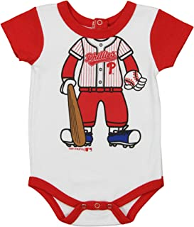 Outerstuff MLB Newborn and Infant's Baseball Creeper, Team Variation