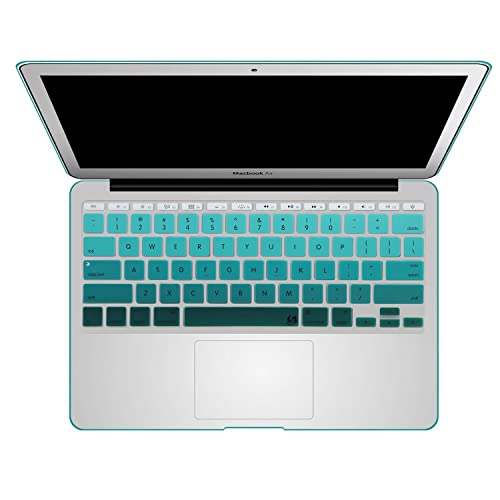"""Chevron Series Soft Light Pink N White Silicone Key Cover for Macbook Air 11/"""""""