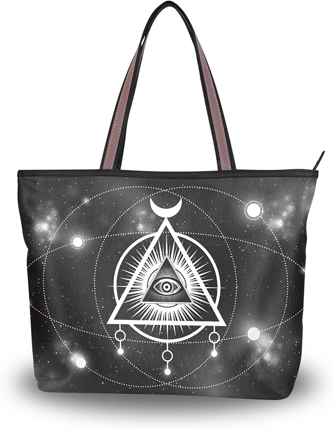Tote Bag Handbag for Women The Third Pyrami Translated Inside NEW before selling ☆ Triangle Eye