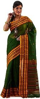 SareesofBengal Sarees of Bengal Women's Handloom Jamdani Cotton Tangail Bengal Tant Saree