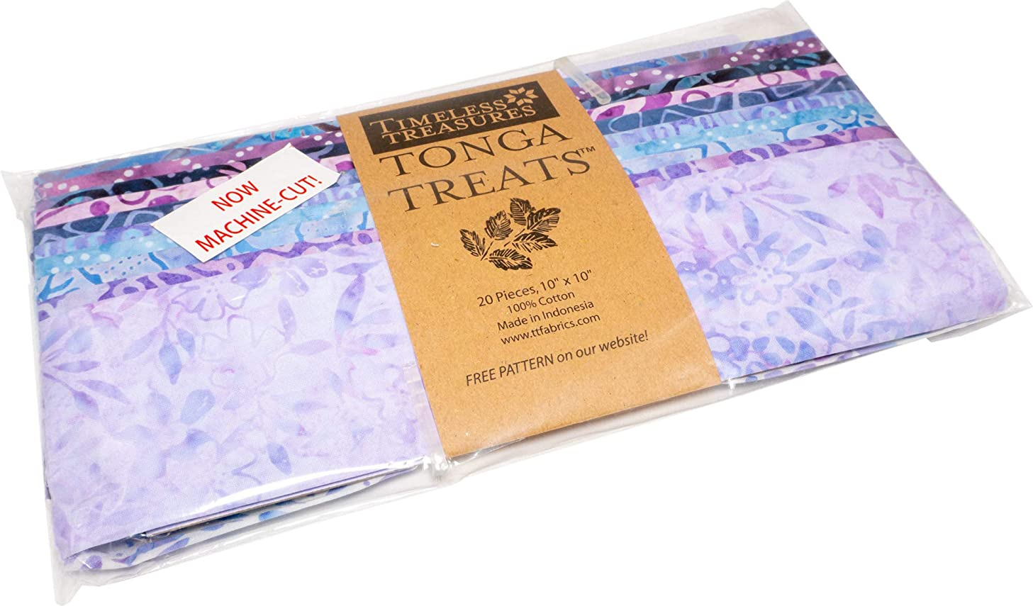 Tonga Treats Batiks Magic Shortcake 20 10-inch Squares Layer Cake Timeless Treasures Fabrics