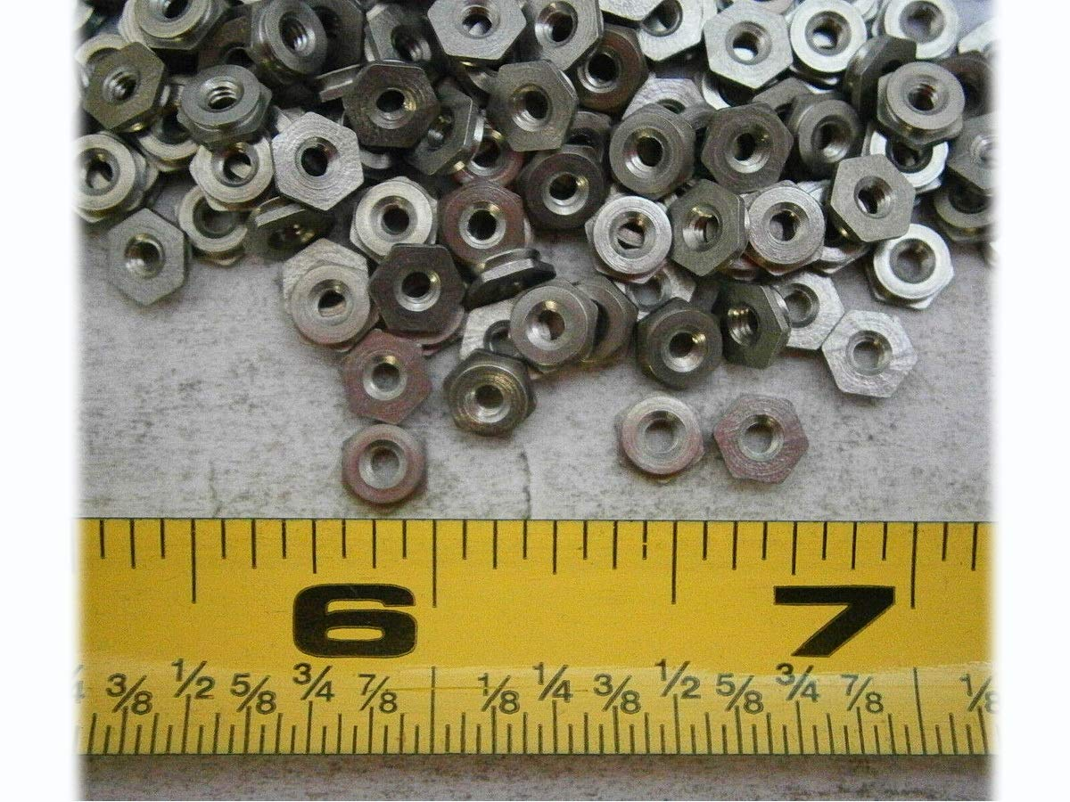 Soldering New F-M2-1 Self-Clinching Flush Nut Insert Stainless x 0.4 Pa Bombing new work M2