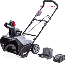 POWERWORKS 20-Inch 60V Brushless Snow Thrower, 4.0AH Battery, SN60L410