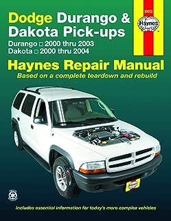 Dodge Durango (00-03) & Dakota (00-04) Pick-ups Haynes Repair Manual (Hayne's Automotive Repair Manual)