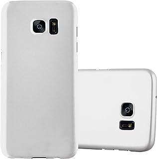 eea97e278f7 Cadorabo Funda para Samsung Galaxy S7 Edge en Metal Plato - Cubierta  Protección de Plástico Duro