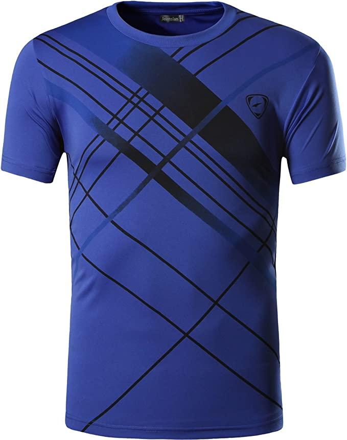 3403 opiniones para jeansian Hombre Sport Dry Fit Deportiva tee Shirt Tshirt T-Shirt Manga Corta